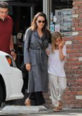 Angelina Jolie shops with her daughter Vivienne in Los Feliz, California