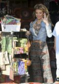 AnnaLynne McCord shopping for Jewelry in Venice Beach, California