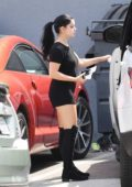 Ariel Winter heading to a Production Studio in North Hollywood
