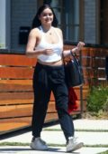 Ariel Winter heads to work in Studio City, Los Angeles