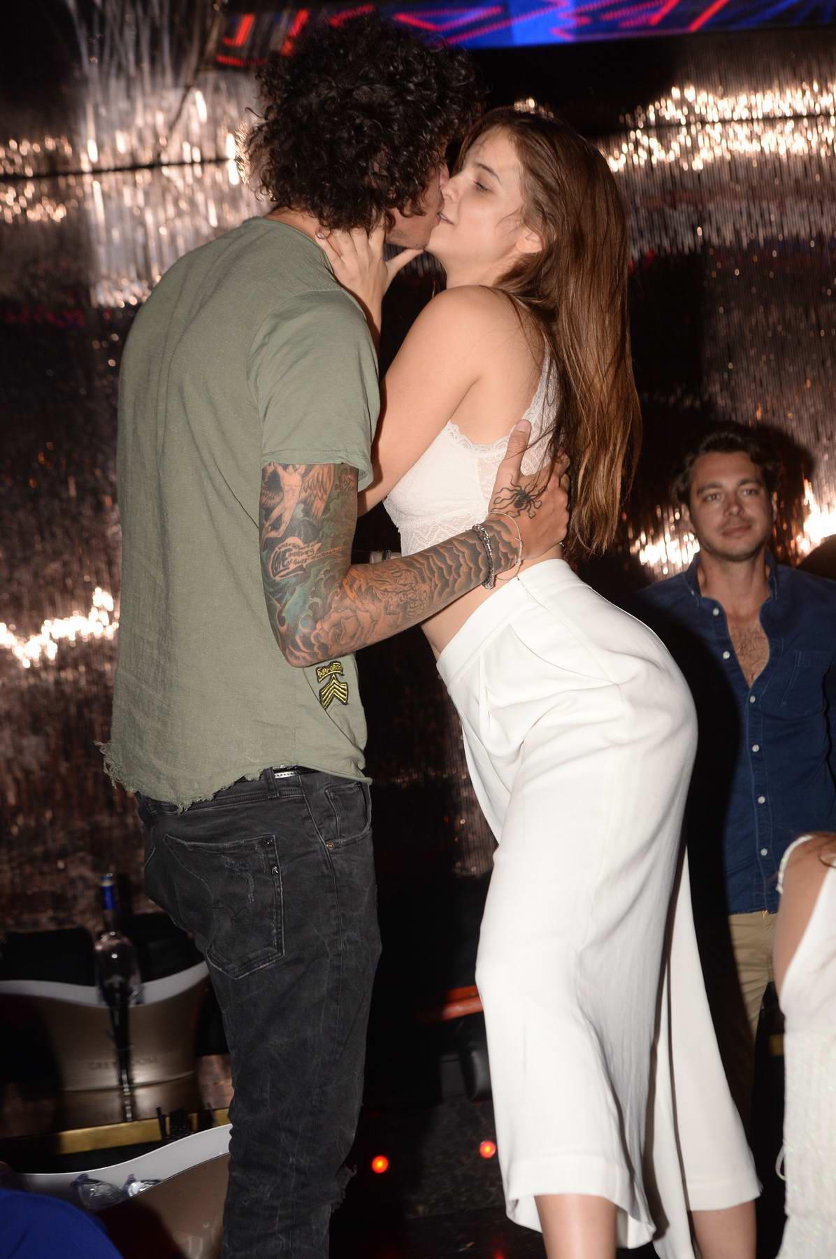 Barbara Palvin spotted partying with Julian Perretta in Saint Tropez, France