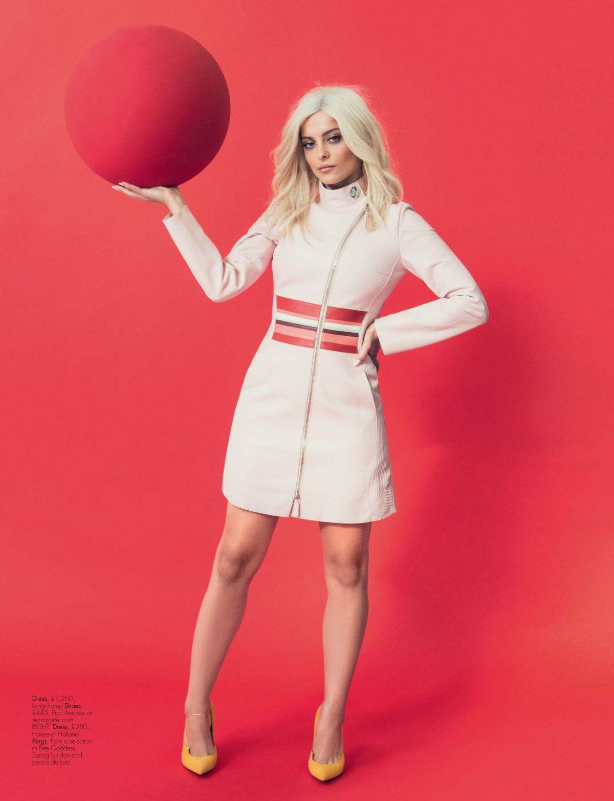 Bebe Rexha in Hello Fashion Magazine - May 2017