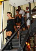 Bella Hadid leaving Cipriani's restaurant in New York