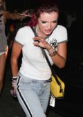 Bella Thorne leaves the Avalon Club at 2:30 in the morning in Hollywood, Los Angeles