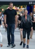 Caroline Wozniacki and David Lee spotted together in New York