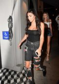 Chantel Jefferies heads into Craigs with Friends in West Hollywood, California