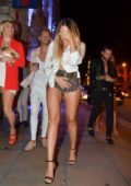 Charlotte Crosby spotted arriving at History Nightclub in Manchester, UK