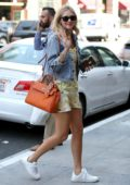Chiara Ferragni heads into a Medical building to see her Doctor in Beverly Hills, Los Angeles