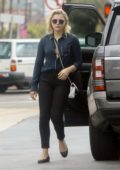 Chloe Grace Moretz make a stop at the Gas Station in Studio City
