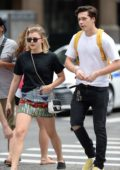 Chloe Grace Moretz spotted out with Brooklyn Beckham in New York