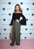 Chrissy Teigen at BeautyCon LA at the LA Convention Center in Los Angeles