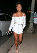 Christina Milian has a girls Night out in West Hollywood