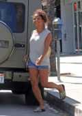 Christina Milian is all smiles as she picks up lunch from Lemonade in Studio City, Los Angeles