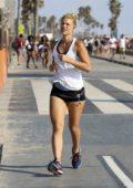 Claire Danes out for run in Santa Monica, California
