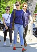 Dakota Johnson and Addison Timlin out for lunch and shopping in Los Angeles