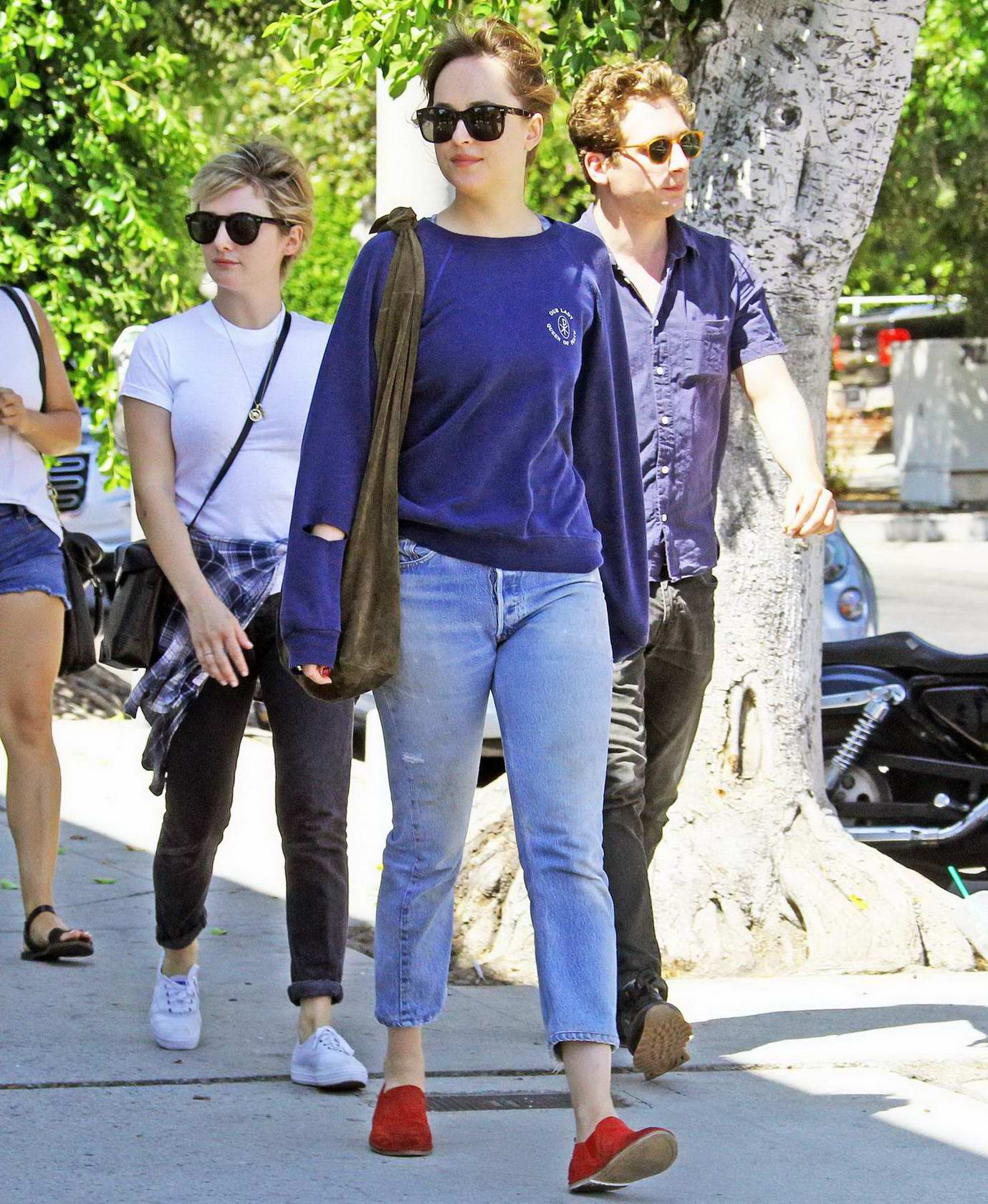 Dakota Johnson and Addison Timlin out for lunch and ...