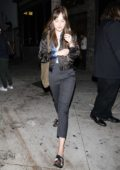 Dakota Johnson leaves the No Name Bar in Los Angeles