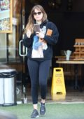 Dakota Johnson stops by Kreation before her workout in West Hollywood, California
