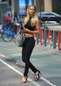 Danielle Knudson attends castings for the 2017 Victoria's Secret fashion show in New York