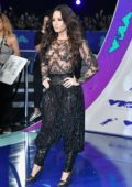 Demi Lovato at 2017 MTV Video Music Awards at the Forum in Inglewood, California