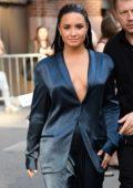 Demi Lovato spotted leaving Z100 Radio Station studios in New York