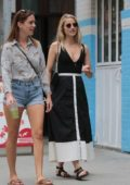 Dianna Agron and a friend step out in New York
