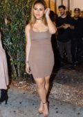 Dinah Jane is seen leaving Delilah in West Hollywood, California