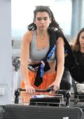 dua lipa seen at heathrow airport heading off for her upcoming tour starting off in jakarta indonesia-080817_1