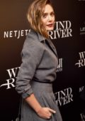 Elizabeth Olsen attends the screening of Wind River in New York