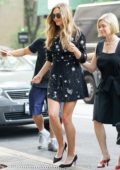 Elizabeth Olsen visits the ABC Studios for Good Morning America in New York