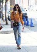 Emily Ratajkowski makes a Coffee run in Los Angeles