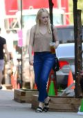 Emma Stone is spotted on the set of upcoming Netflix series 'Maniac' in New York