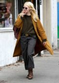 Emma Stone on the set of upcoming Netflix series 'Maniac' in New York
