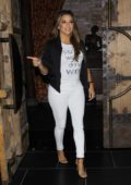 Eva Longoria and Amaury Nolasco exit TAO after dinner together in West Hollywood
