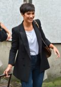 Frankie Bridge spotted outside ITV Studios in London