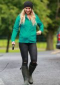 Gemma Atkinson at Charity Dog Walk in Manchester, UK