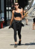 Georgia Fowler spotted holding CK balloons in New York