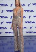 Hailey Baldwin at 2017 MTV Video Music Awards at the Forum in Inglewood, California