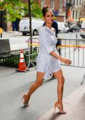 Halle Berry is spotted after a Live Kelly show filming in New York
