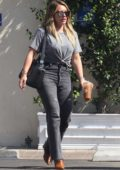 Hilary Duff and Mike Comrie out for lunch at Sweet Butter in Studio City, Los Angeles