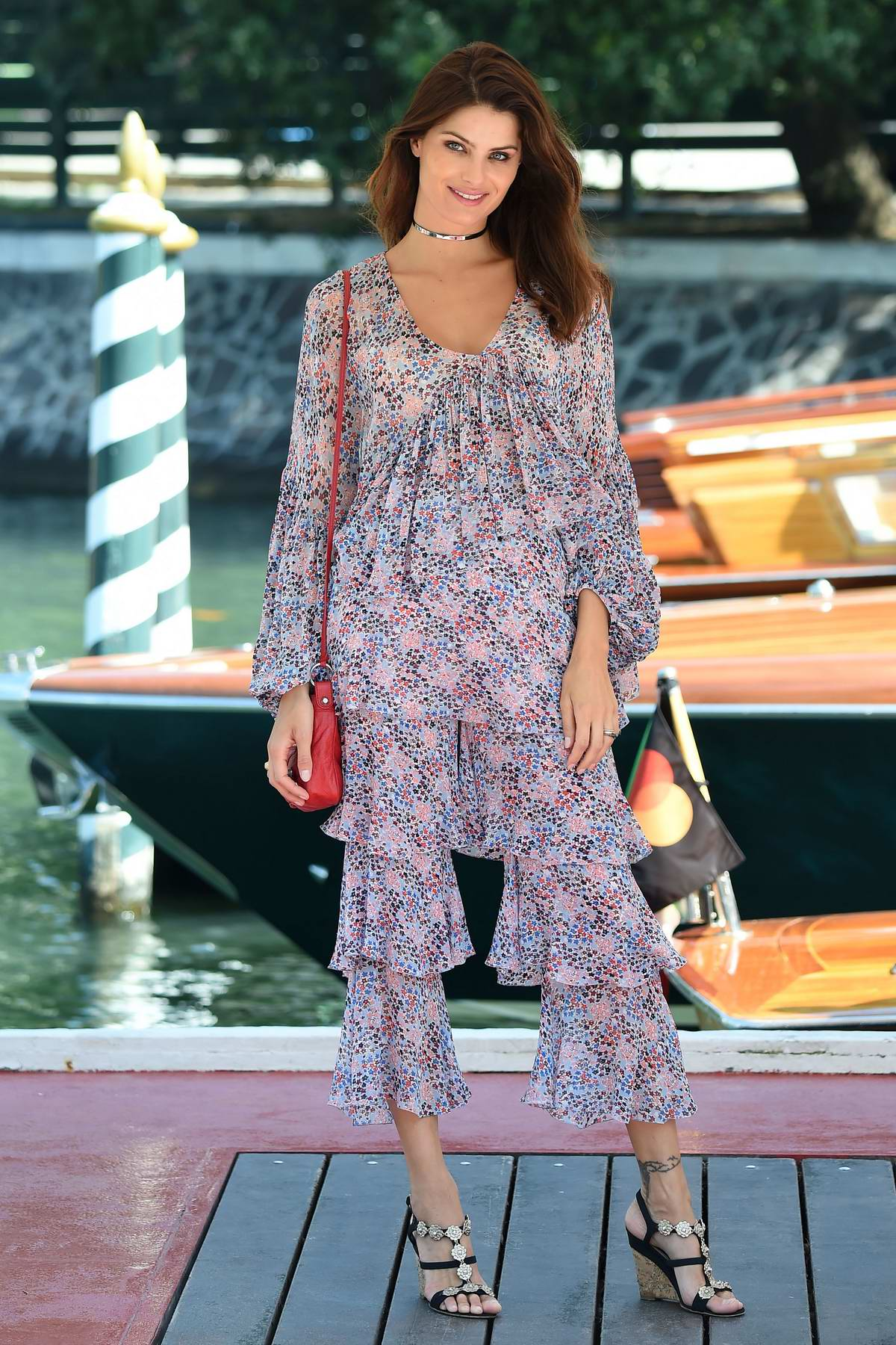 Isabeli Fontana spotted during the 74th Venice Film Festival in Venice, Italy
