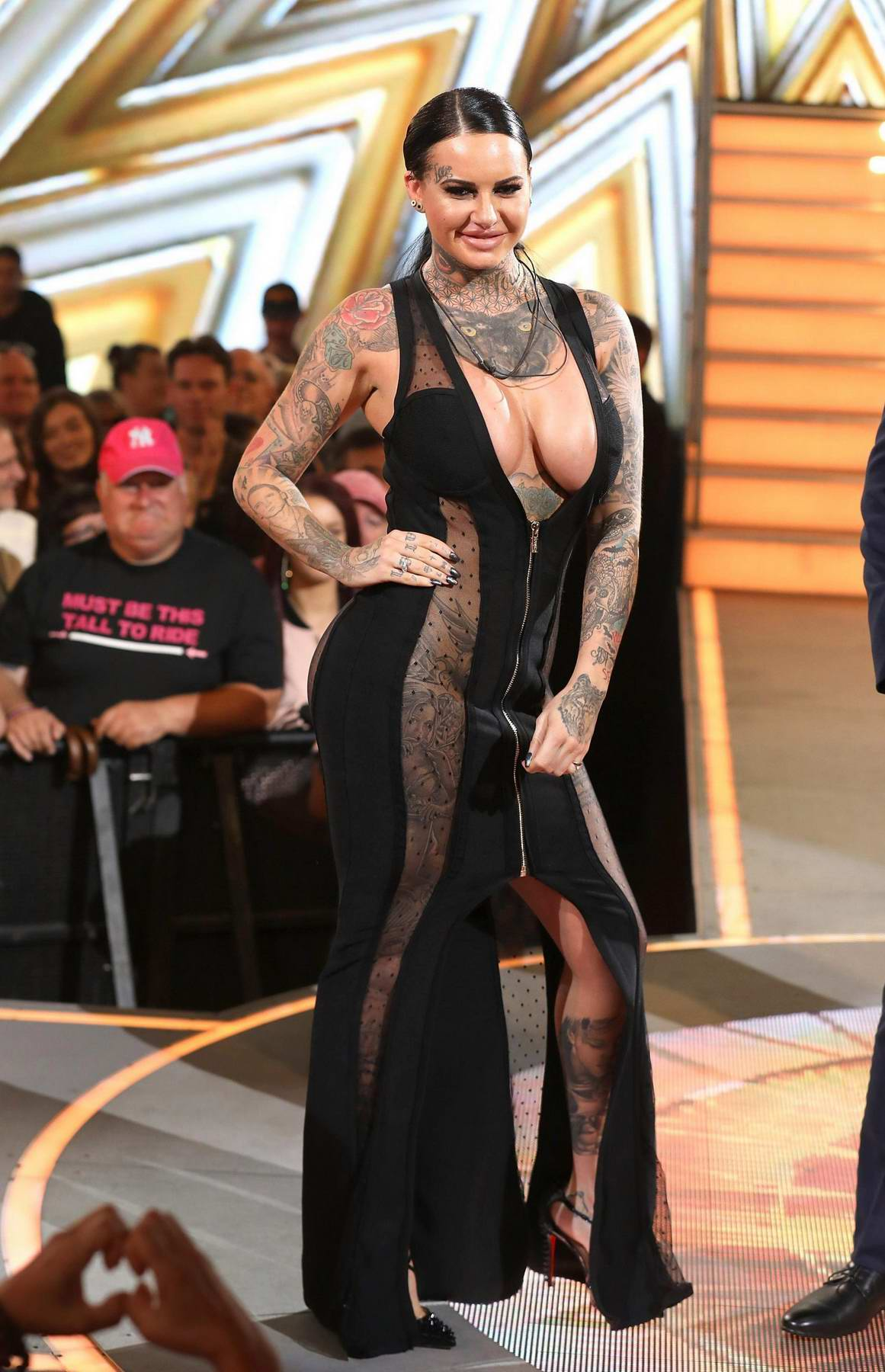 Jemma Lucy at Celebrity Big Brother finale in Hertfordshire, UK