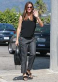 Jennifer Garner arrives Sunday Church services in Pacific Palisades in Los Angeles