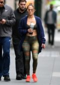 Jennifer Lopez and Alex Rodriguez heads to a gym in New York City