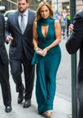 Jennifer Lopez at the wedding of Sophie Lasry and Alex Swieca at Cipriani, Wall Street in New York