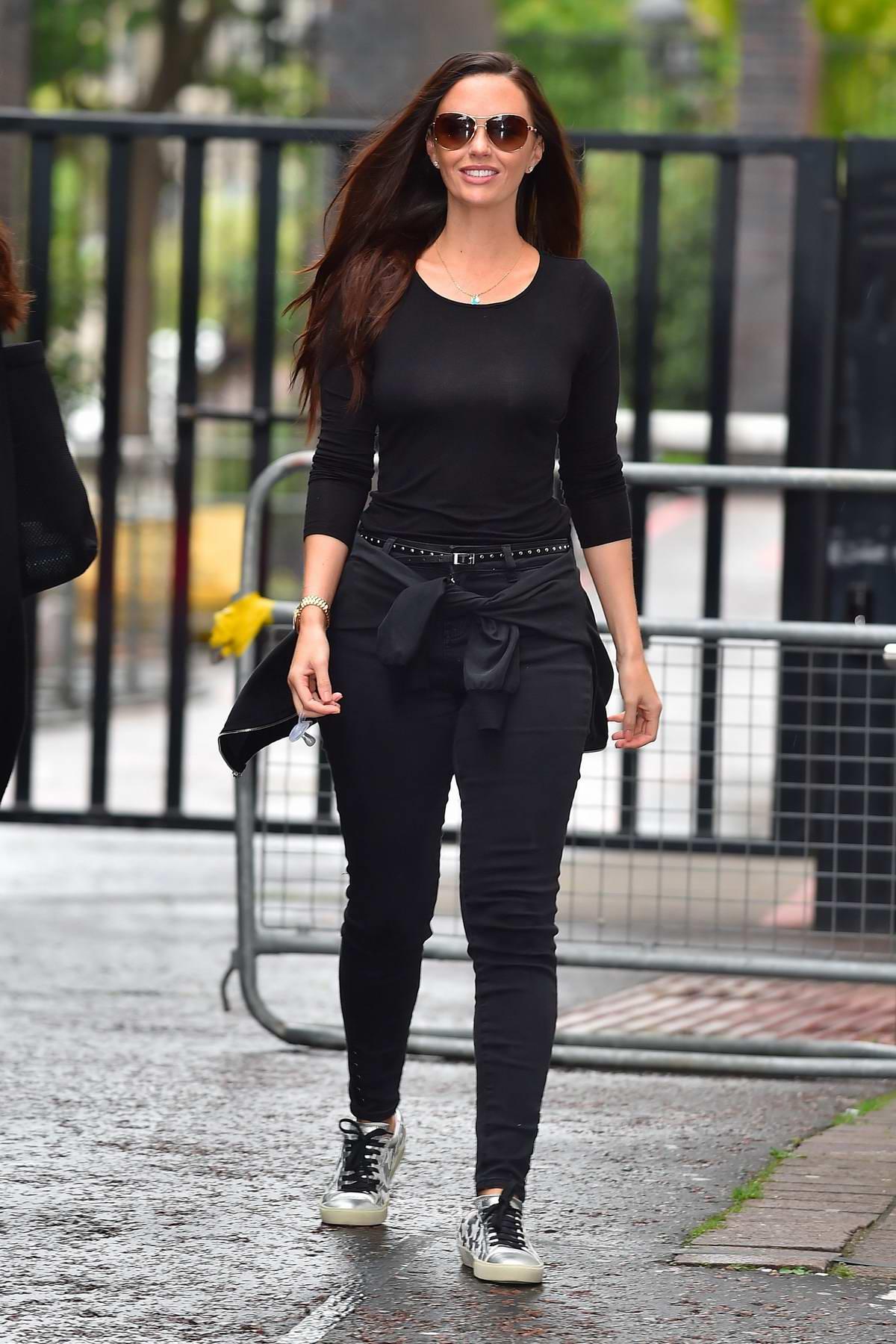 Jennifer Metcalfe spotted outside ITV Studios in London