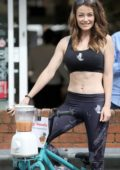 Jess Impiazzi joins Sight For Surrey at the Co-op in Bookham, Surrey, UK