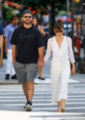 Jessica Biel and Justin Timberlake out on a walk in New York