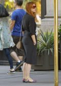 Jessica Chastain and Gian Luca Passi de Preposulo are Spotted in New York
