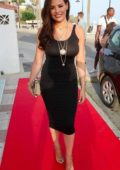 Jessica Wright at Olivias Restaurant in Spain
